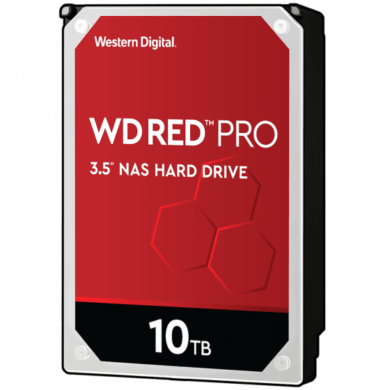 כונן פנימי Western Digital WD102KFBX 3.5″ 10TB Red PRO
