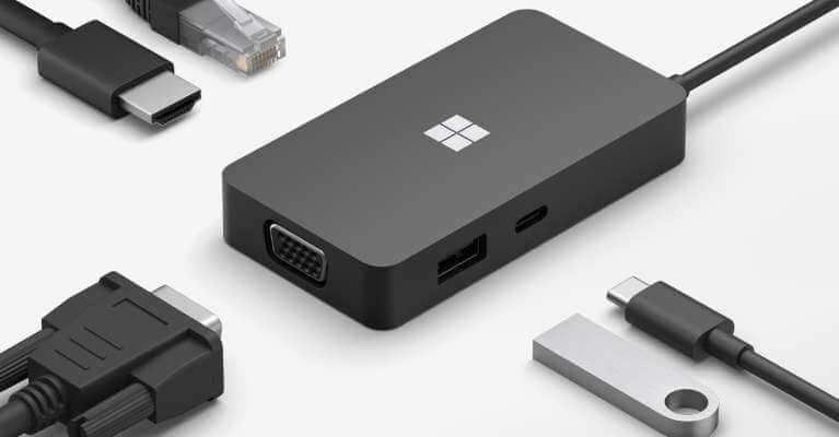Microsoft USB-C® Travel Hub